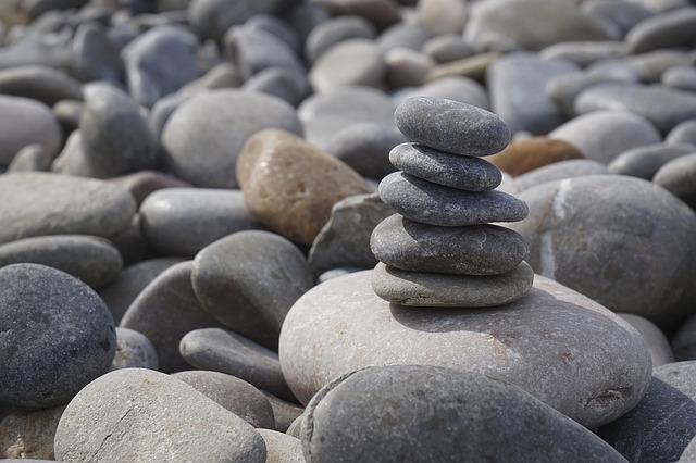Pebble, Stones, About, Nature, River, Beach, Plump