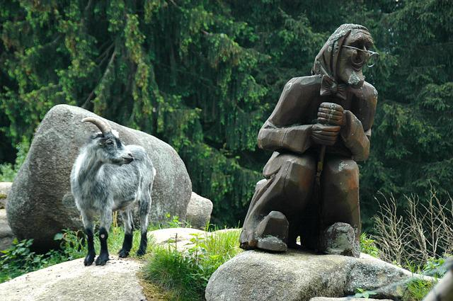 Fort, Goslar-oker, Rock, Stones, Mountain Goat, Nature