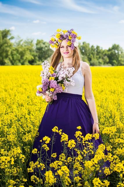 Summer, Colza, Nature, Flower, Rape, Slovakia, Fields