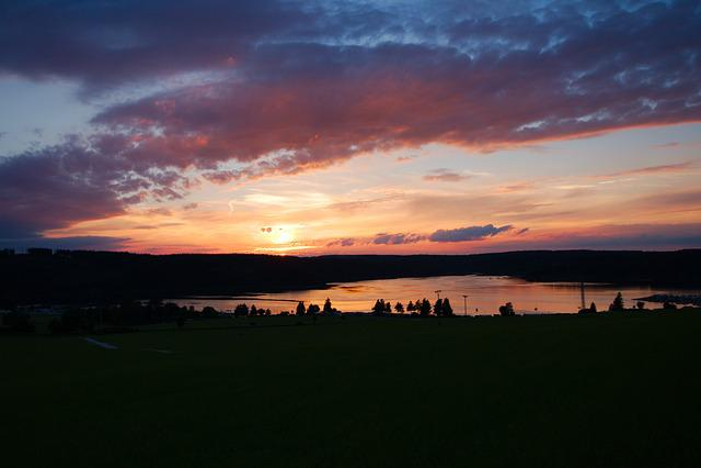 Sunset, Panorama, Nature, Dawn, Dusk, Sky, Landscape