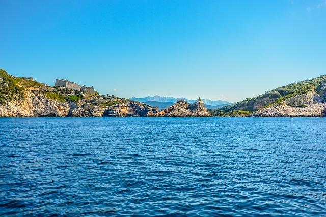 Water, Sea, Seashore, Travel, Nature, Portovenere