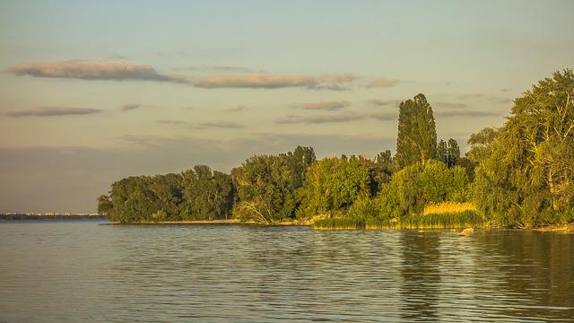 Water, Nature, Lake, River, Tree, Sky, Landscape