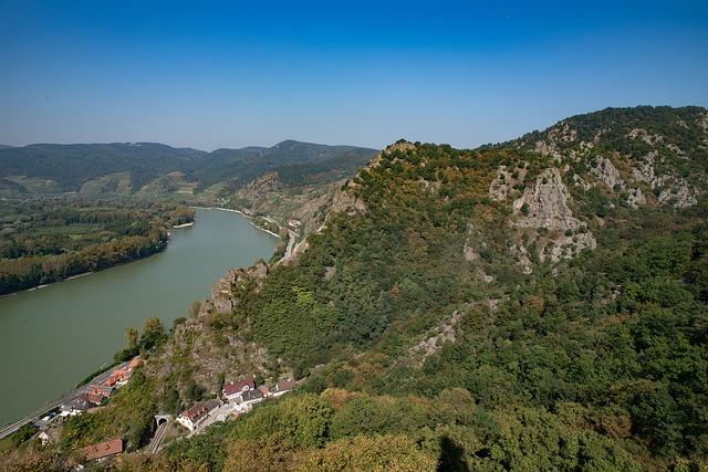River, Landscape, Nature, Valley, Danube, Wachau