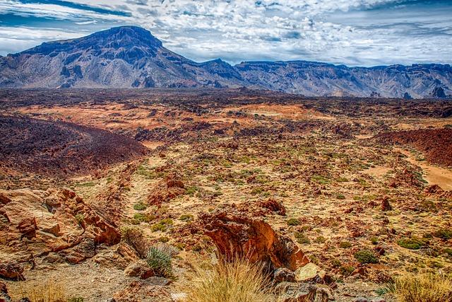 Volcanic Landscape, Tenerife, Nature, Landscape