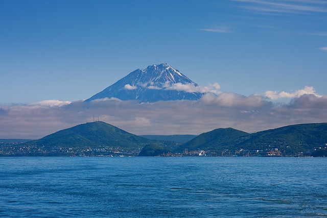 No One, Mountain, Water, Travel, Nature, Sea, Volcano