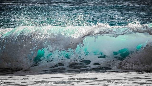 Wave, Water, Sea, Ocean, Nature, Spray, Foam, Splash