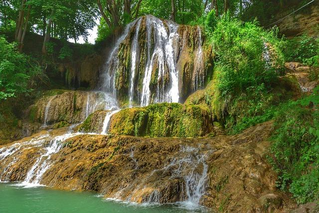 Summer, Waterfall, Nature, Water, Travel, Slovakia