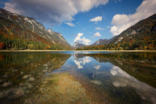 Nature, Mountain, Landscape, Waters, Lake, Bergsee
