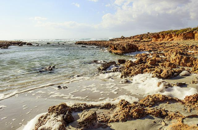 Foam, Rocky Coast, Waves, Nature, Landscape, Shore
