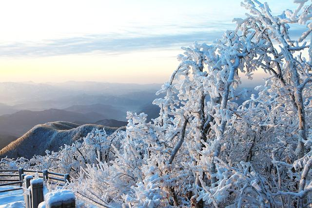 Snow, Winter, Nature, Mountain, Frost