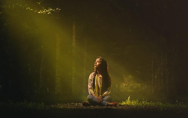Woman, Sitting, Sunlight, Sit, Outdoors, Nature, Park