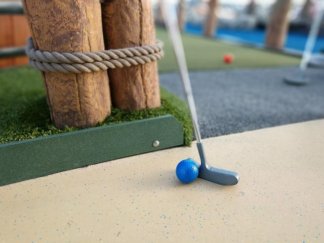 Sport, Miniature Golf, Golf, Nautical, Putter, Golfing