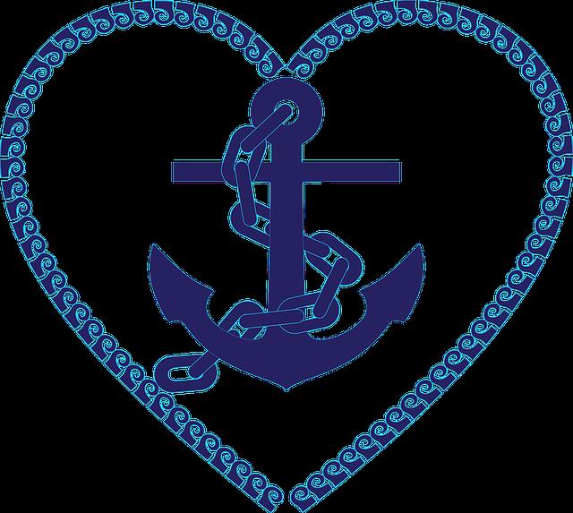 Anchor, Chain, Nautical, Ocean, Sea, Water, Marine
