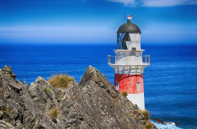 Lighthouse, Navigation, Beacon, Tower, Coast, Shore