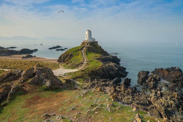 Lighthouse, Coast, Sea, Tower, Navigation
