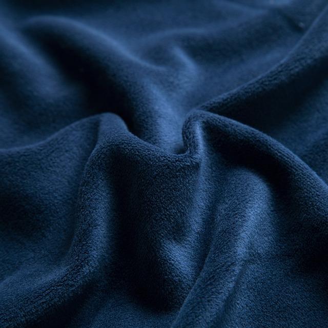 Navy Blue, Velvet, Fabric, Textiles