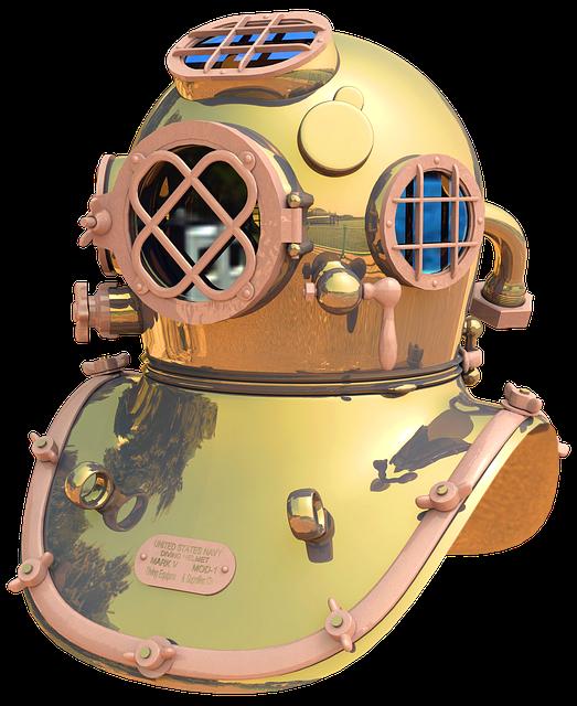 Divers Helmet, Helmet Diver, Diving, Divers, Navy