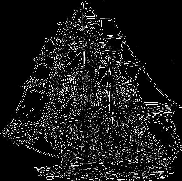 Ship, Sails, War, Cannon, Gun, Navy, Old, Military
