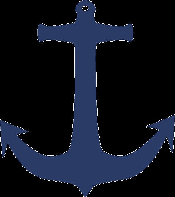 Anchor, Sea, Yacht, Navy, Vessel, Marine, Sailing