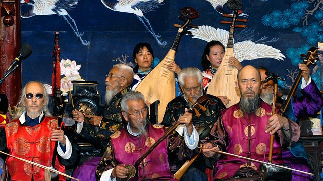 China, Orchestra, Music, Chinese, Naxi Orchestra