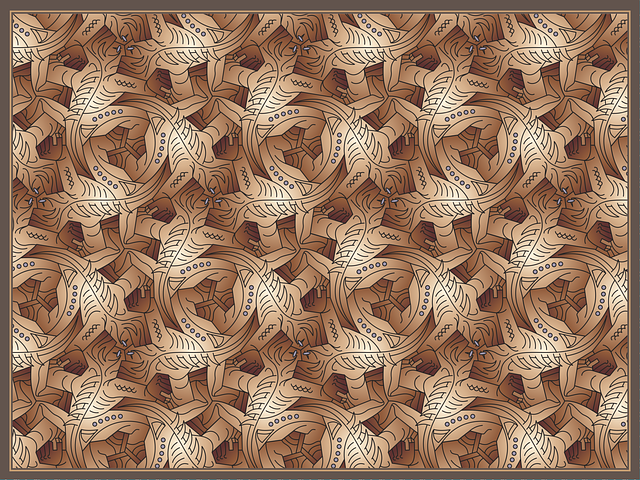 Lizard, Nc Escher, Pattern, Op Art