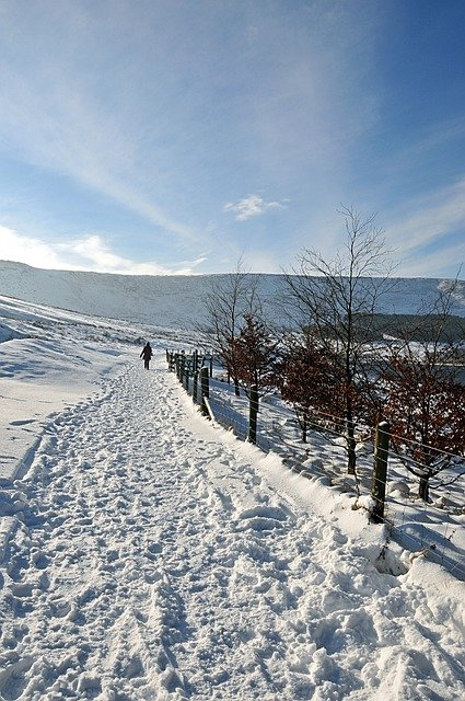 Winter Magic, Near Dovestones Reservoir, United Kingdom
