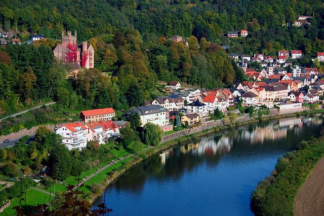 Neckar, Landscape, Water