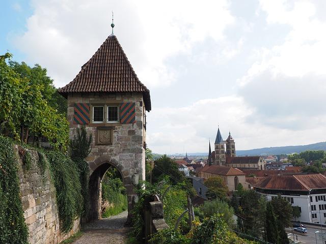 Esslingen, Tower, Neckarhalde, City Wall