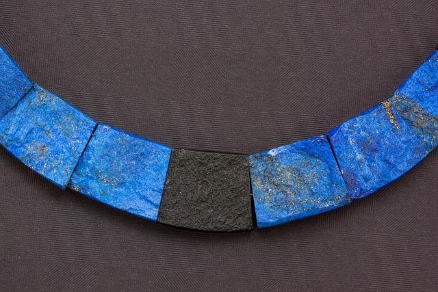 Chain, Necklace, Jewellery, Lapis Lazuli, Azurite