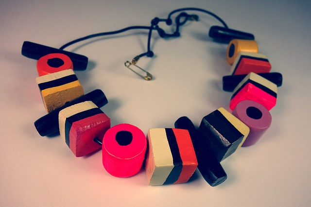 Licorice, Licorice All Sorts, Necklace, Woman
