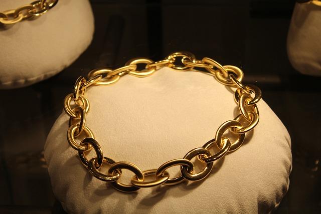Necklace, Jewel, Collier, Gold, Precious
