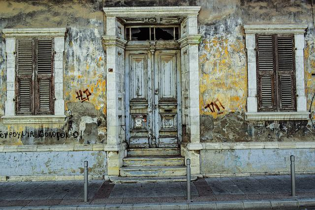 Old House, Architecture, Neoclassic, Vintage, Exterior
