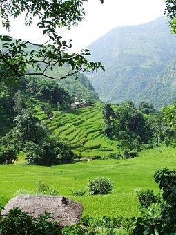 Nepal, Annapurna, Trekking, Landscape, Mountains