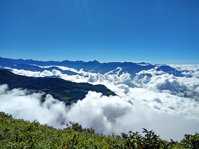 Mountain And Cloud, Nepal, Nepal Landscape, Cloud