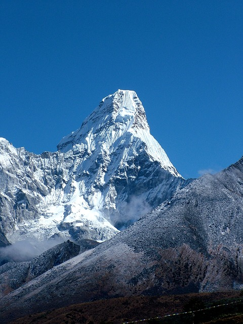 Ama Dablam, The Himalayas, Mountain, Mountains, Nepal
