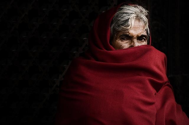 Women, Nepal, The Old Man