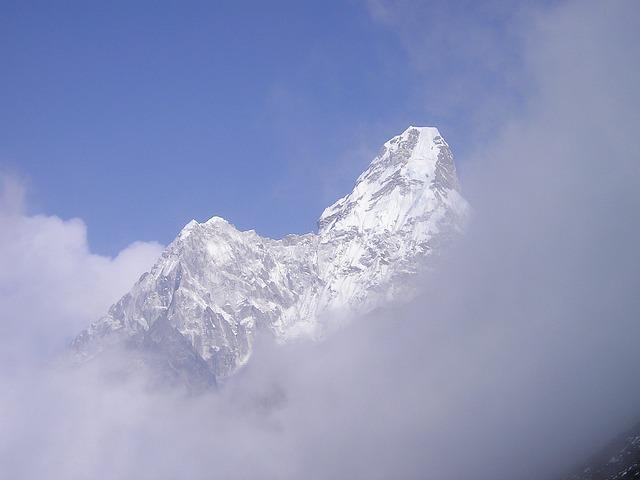Himalayas, Ama Dablam, Nepal, Everest, Trek