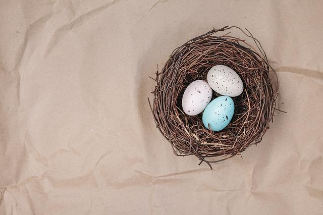 Egg, Easter, Easter Nest, Nest, Background