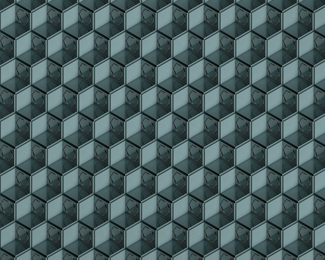 Nested, Winding, Cubic, Cube, Hexagon, Wallpaper, Cover