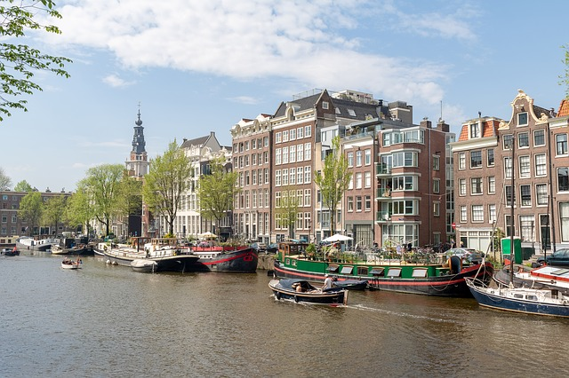 Amsterdam, Canal, Architecture, Amstel, Netherlands