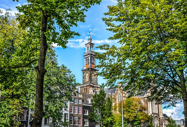Amsterdam, Tower, Netherlands, Architecture, Building