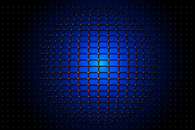 Ball, About, Network, Grid, Futuristic, Template