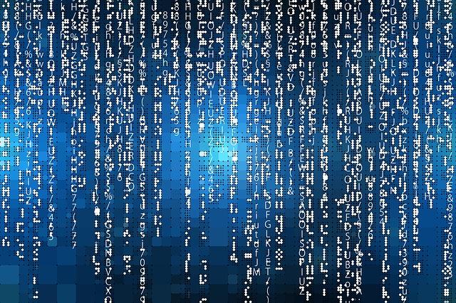 Free Photo Network Digital Internet Data Technology Matrix