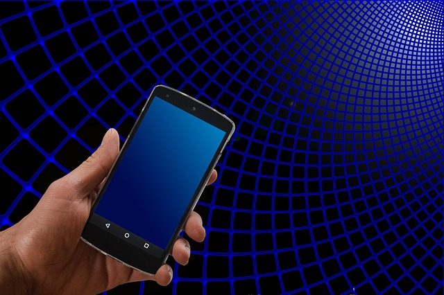 Network, Smartphone, Hand, Keep, Search, Web Search