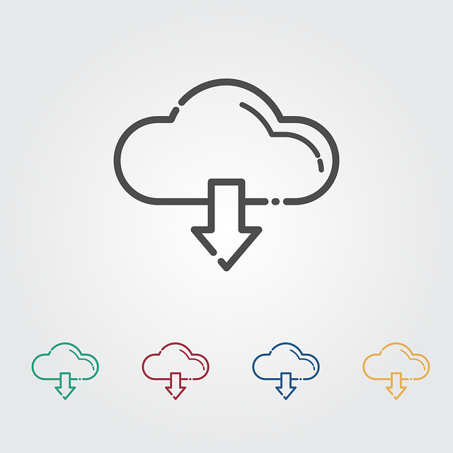 Download, Cloud, Icon, Network, Internet, Technology