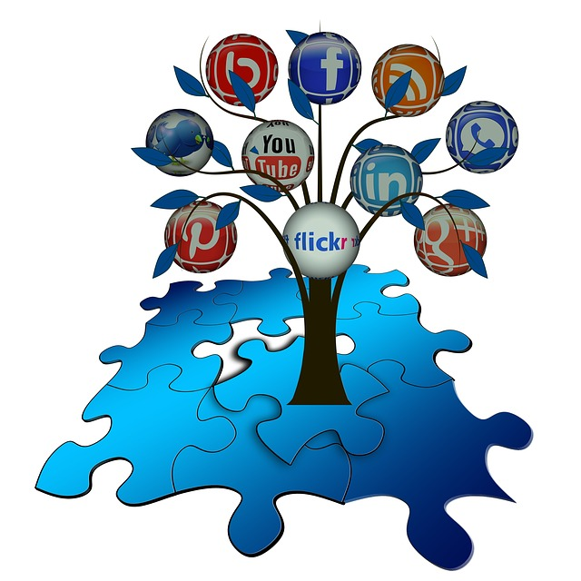 Puzzle, Share, Tree, Structure, Networks, Internet