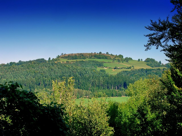 Neuburg, Germany, Landscape, Scenic, Mountains, Hills