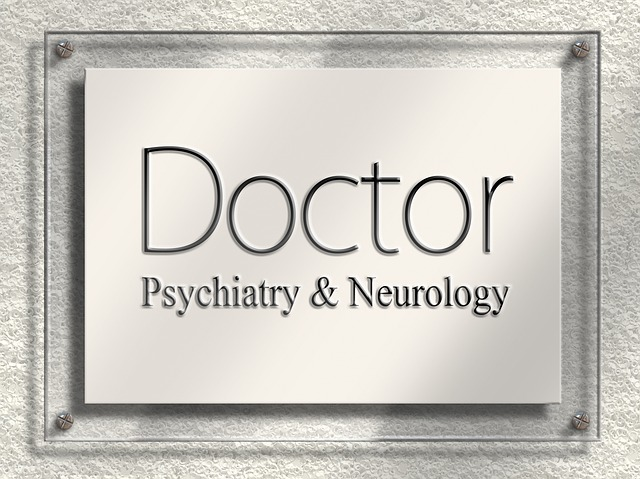 Doctor, Door Sign, Nameplate, Psychiatry, Neurology