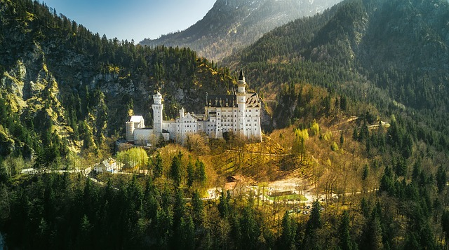 Neuschwanstein Castle, Germany, Famous, Bavaria