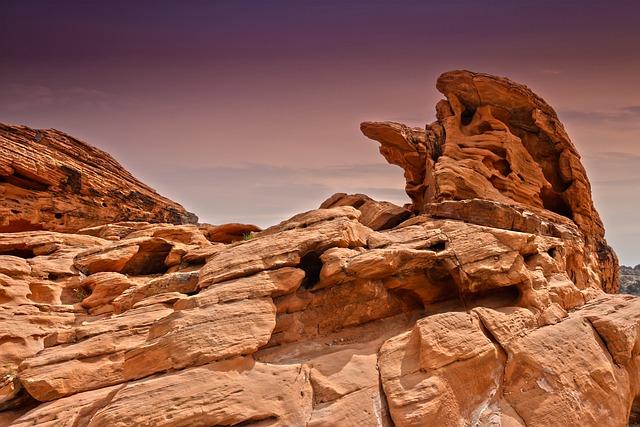 Las Vegas, Nevada, Valley Of Fire Canyon